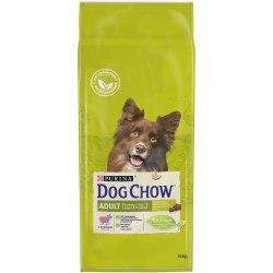 Сухой корм PURINA Dog Chow ADULT с ягненком - 14 кг