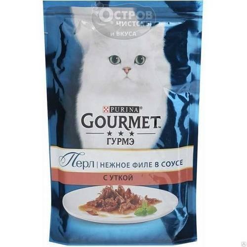 Влажный корм GOURMET PERLE с уткой в подливке, 24 шт*85г