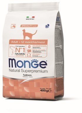 Сухой корм Monge CAT ADULT SALMON 10 кг