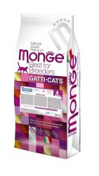 Сухой корм Monge Cat Adult 1,5 кг