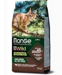 Сухой корм Monge CAT BW GF Sterilized TUNA 1,5 кг