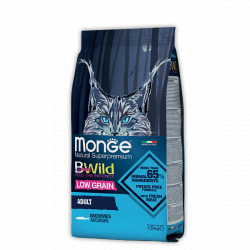 Сухой корм Monge Superpremium Cat BWILD ADULT ANCHOVIES 10 кг