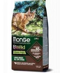Сухой корм Monge Superpremium Cat BWILD ADULT IEPRE 10 кг