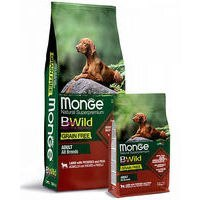Сухой корм Monge Dog BWILD GF Adult LAMB 12 кг