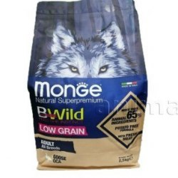 Сухой корм Monge Dog BWILD GOOSE 2,5 кг