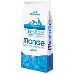 Сухой корм Monge Dog SPECIALITY Light Salmon&Rice 2,5 кг