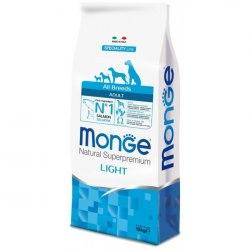 Сухой корм Monge Dog SPECIALITY Light Salmon&Rice 15 кг