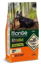 Сухой корм Monge Dog BWILD GRAIN FREE Duck&Patato MINI Adult 15 кг