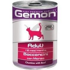 Влажный корм Gemon Cat Adult Beef 6шт*415 g