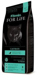 Сухой корм Fitmin Cat For Life Castrate 1,8 кг