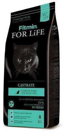 Сухой корм Fitmin Cat For Life Castrate 8 кг