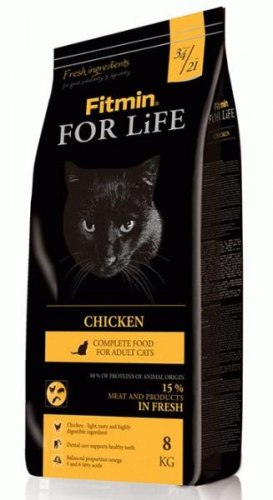 Сухой корм Fitmin Cat For Life Chicken 1,8 кг