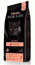 Сухой корм Fitmin Cat For Life Salmon 8+1 кг