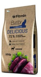 Сухой корм Fitmin Cat Purity DELICIOUS 10+1 кг