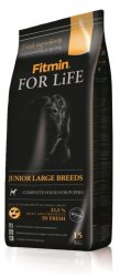 Сухой корм Fitmin FOR LIFE JUNIOR LARGE BREEDS 3 кг