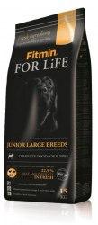 Сухой корм Fitmin FOR LIFE JUNIOR LARGE BREEDS 15 кг