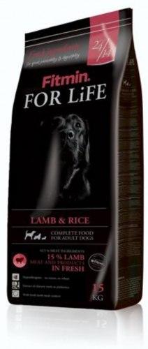 Сухой корм Fitmin FOR LIFE LAMB & RICE 3 кг