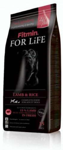 Сухой корм Fitmin FOR LIFE LAMB & RICE 15+2 кг