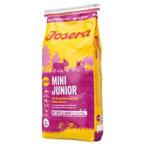 Сухой корм Josera MiniJunior (Junior/Adult Mini 29/18) 15 кг