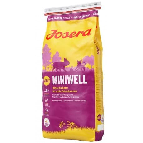 Сухой корм Josera Miniwell (Adult Mini/Sensitive 27/16) 15 кг