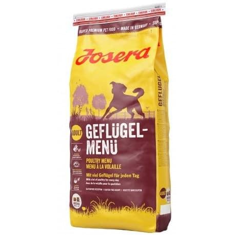 Сухой корм Josera Poultry Menu (Adult Medium/Maxi 25/13) GEFLUGEL-MENU 15 кг
