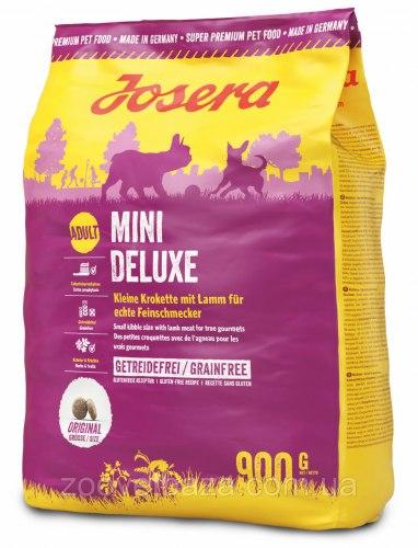 Сухой корм Josera MiniDeluxe (Adult Mini/Sensitive 25/17) 900г