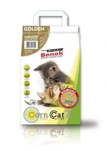 Наполнитель S.Benek 7 л Corn Cat Golden