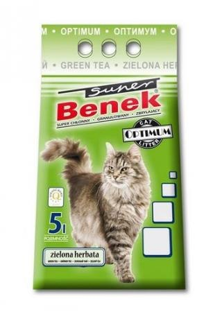Наполнитель S.Benek 5 л. Optimum Zielona Herbata