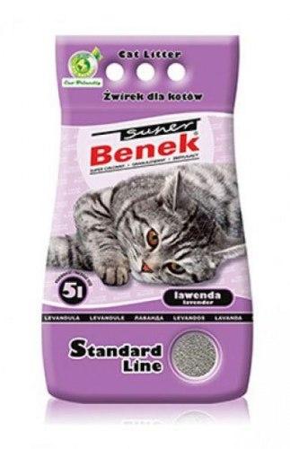 Наполнитель S.Benek 5 л. Lawenda