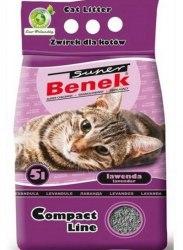 Наполнитель S.Benek 5 л. Compact Lawenda