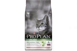 Сухой корм PURINA PRO PLAN STERILISED С ЛОСОСЕМ - 0,4 кг