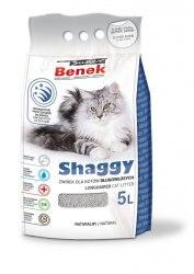 Наполнитель S.Benek Shaggy 5л для длинношерстных кошек