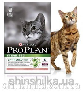 Сухой корм PURINA PRO PLAN STERILISED С ЛОСОСЕМ - 1,5 кг