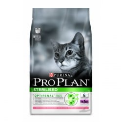 Сухой корм PURINA PRO PLAN STERILISED С ЛОСОСЕМ - 3 кг