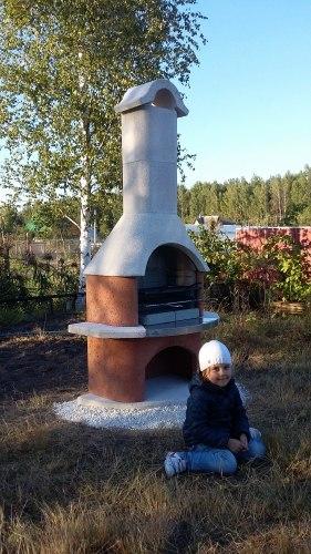 Садовое барбекю Buschbeck DAVOS (нерж.сталь)