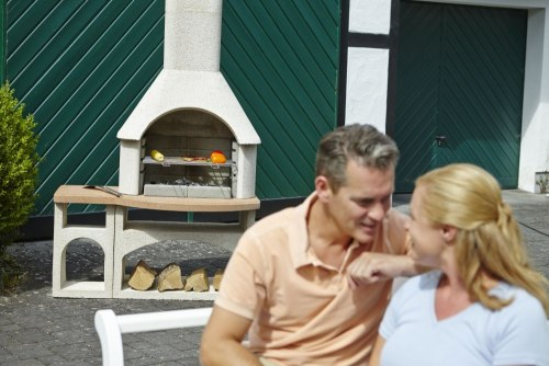 Садовое барбекю+столик Buschbeck BOZEN