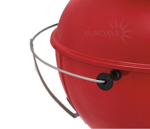 Угольный гриль Weber Master-Touch GBS MTGBS-57 красный