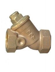 """Обратный клапан Oventrop Ду 32, G1 1/4""""BP, PN16, бронза/латунь"""