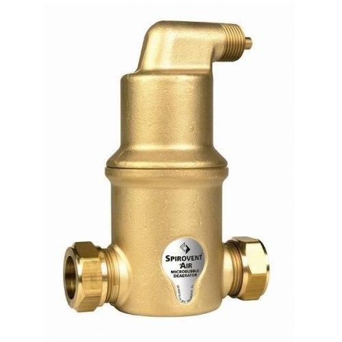 Сепаратор микропузырьков Spirovent Air / высокая температура / высокое давление AA125/004 Spirotech