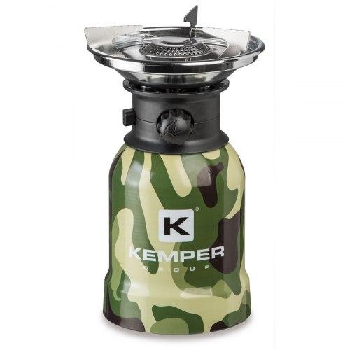Газовая плитка туристическая Kemper KE2008CMF