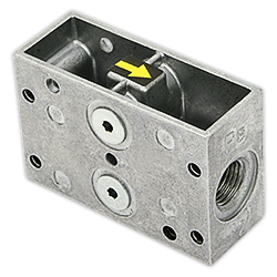 Адаптер для блока проверки герметичности Dungs VPS 504/VPS 508