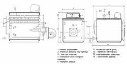 Водогрейный котел Unical серия MODAL мощность 64-291 кВт