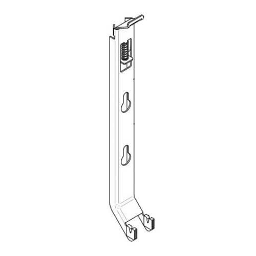 Крепление радиатора настенное 1 шт. Buderus K15,4 (500) тип 20, 21, 22, 33