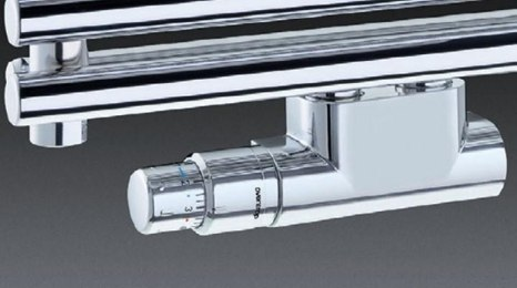 Комплект подключения Zehnder для полотенцесушителя Zehnder Subway INOX