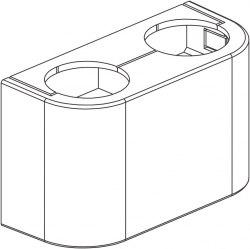 Декоративная крышка белая Oventrop для радиаторов