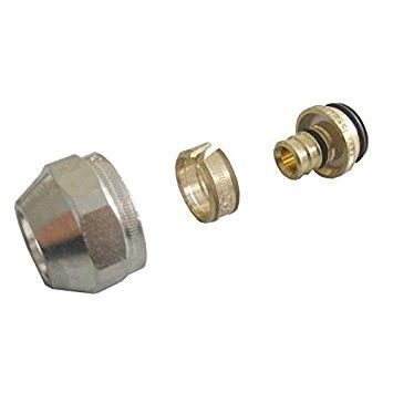 Накидная гайка со стяжным кольцом Oventrop с/без покрытия