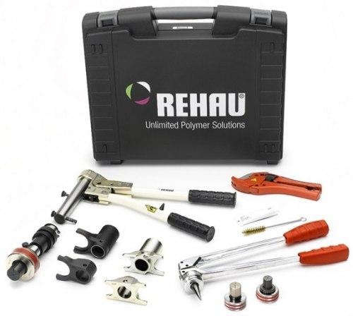 Инструмент Rehau для труб предоставляется **бесплатно**