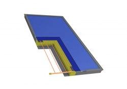 Солнечный коллектор Hewalex KS2600F TLP ACR