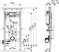 Инсталляция с очисткой воздуха TECE Tecelux 400