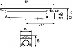 Сифон TECE drainprofile